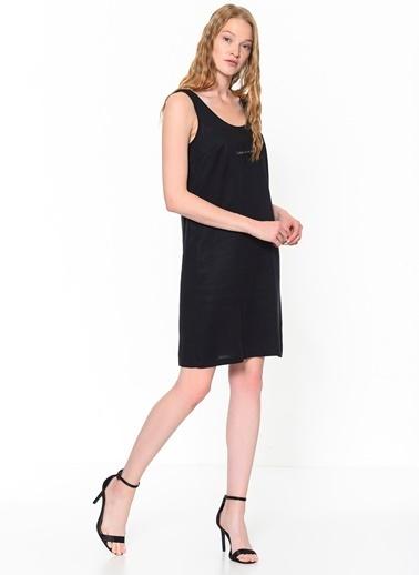 Calvin Klein Kolsuz Askılı Elbise Siyah